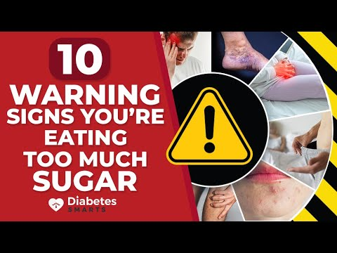 10 Warning Signs That You Are Eating Too Much Sugar