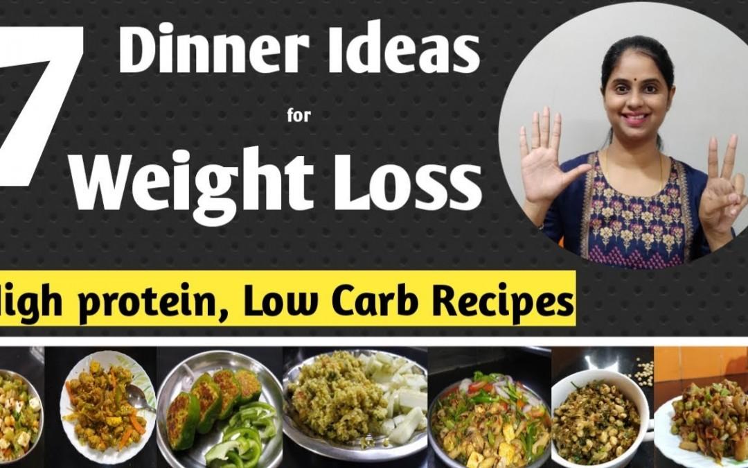 7 Dinner recipes for weight loss | Dinner ideas | Healthy dinner recipes | Abbzorb Nutrition