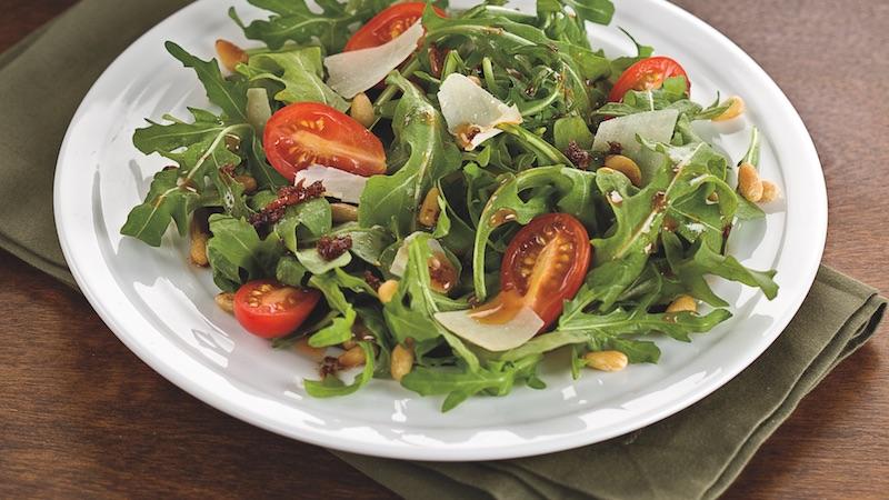 Arugula Salad With Sun-Dried Tomato Vinaigrette