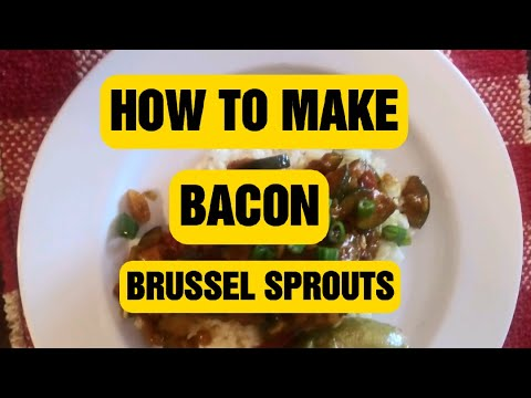 Bacon BRUSSELS SPROUTS #254