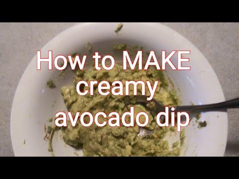 Creamy Avocado Dip #101