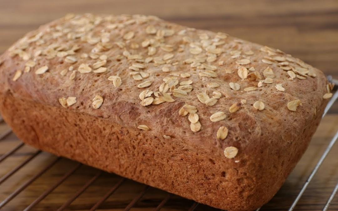 Easy Oatmeal Bread Recipe   How to Make Oatmeal Bread