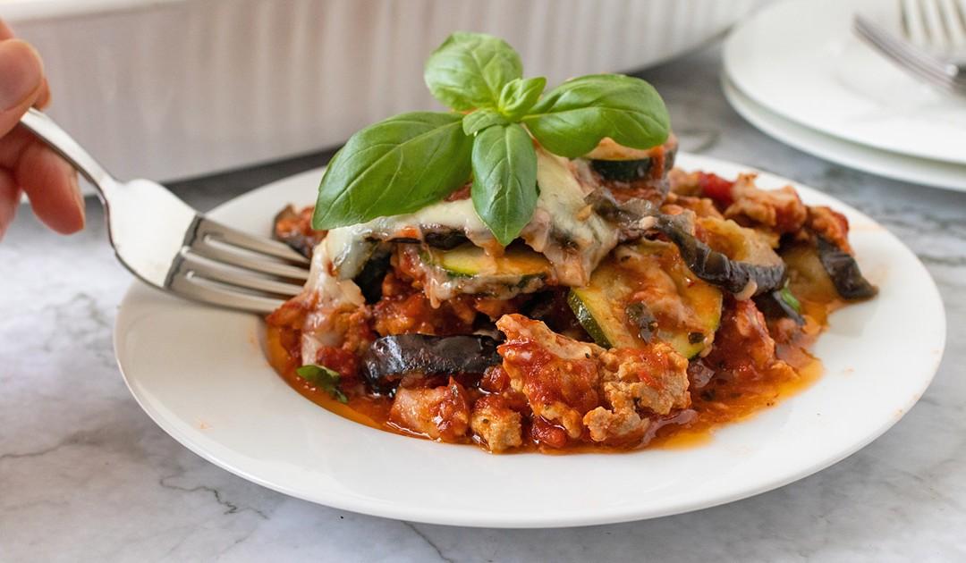 Eggplant Zucchini Bake – Diabetic Foodie