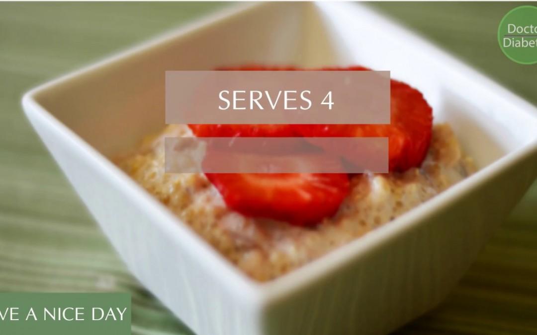 Healthy diabetic recipes low calorie for control diabetes:  Fruity Quinoa Porridge