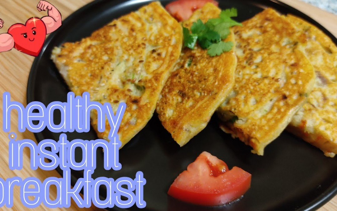 Healthy instant breakfast  Instant recipes  diabetic friendly breakfast  Healthy Breakfast in 5mins.