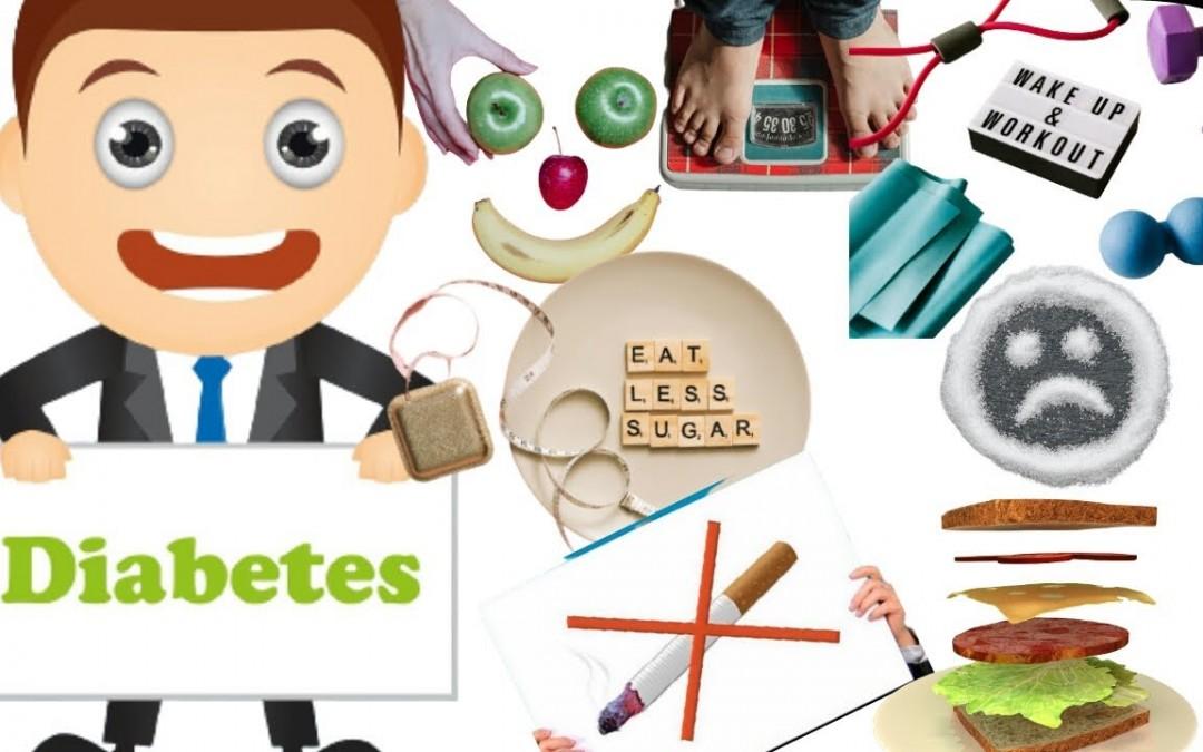 Healthy lifestyle to prevent diabetes / lifestyle for diabetes / control diabetes