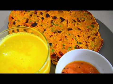 High Protein Breakfast Recipe For Weight Loss- Besan Cheela Thyroid/PCOS/Diabetic Diet