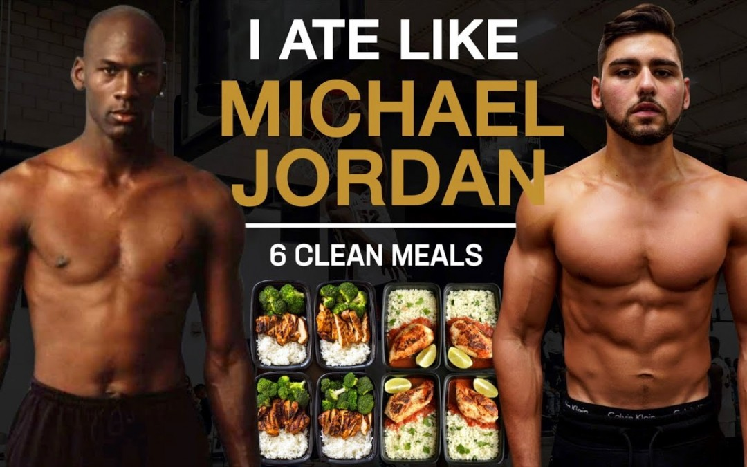 I Ate Like Michael Jordan For A Day