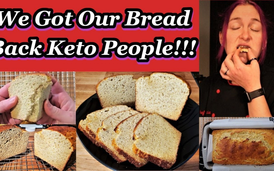 Keto BREAD Loaf!!! No Vital Wheat Gluten or Nut Flours!!! Soft and Delicious!