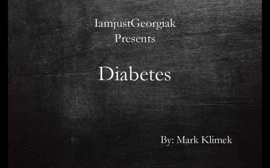 Mark Klimek's lecture 5 ( Diabetes mellitus)