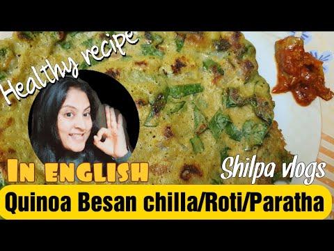 Quinoa recipes for fast weight loss | Gluten free meal | Quinoa Besan Chilla | Diabetes recipe