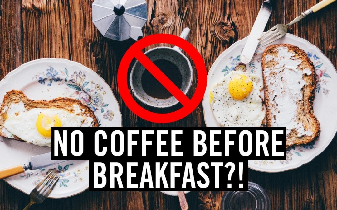 Science Says No Coffee Before Breakfast?!