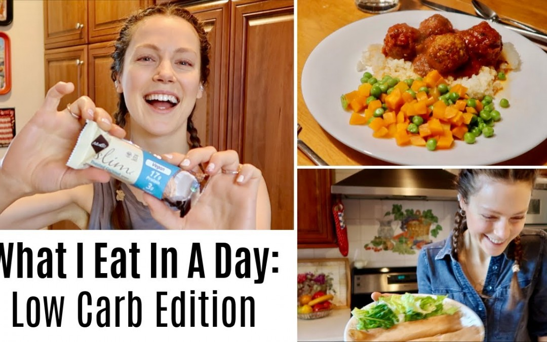 What I Eat In A Day with Type 1 Diabetes: Low Carb Edition   ShesDiabetic