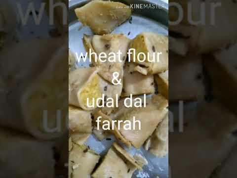 Wheat flour & udad dal Farrah | breakfast | dinner | tiffin | weight loss | PCOD | diabetic diet |