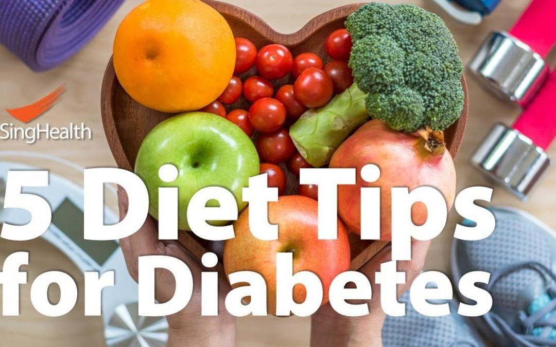 5 Diet Tips for Diabetes