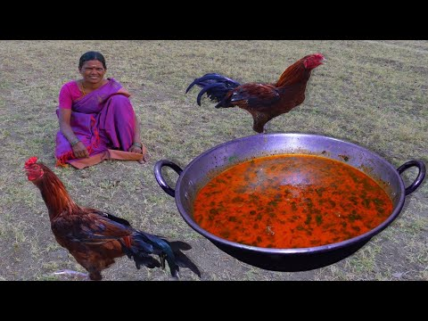 Country Chicken Gravy | Traditional Country Chicken Recipe | Village Cooking | Side Dish Recipes