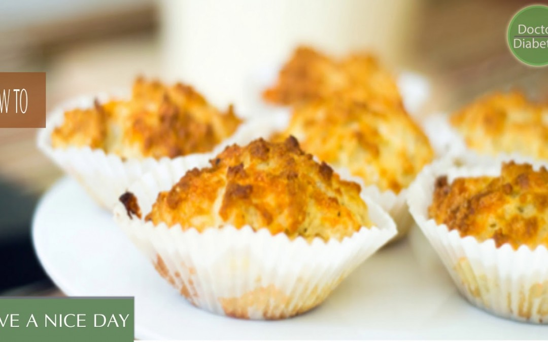 healthy diabetic recipes low calorie for control diabetes: Cheddar Muffins