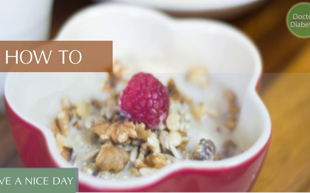healthy diabetic recipes low calorie for control diabetes   Fruity Millet Raisin Breakfast