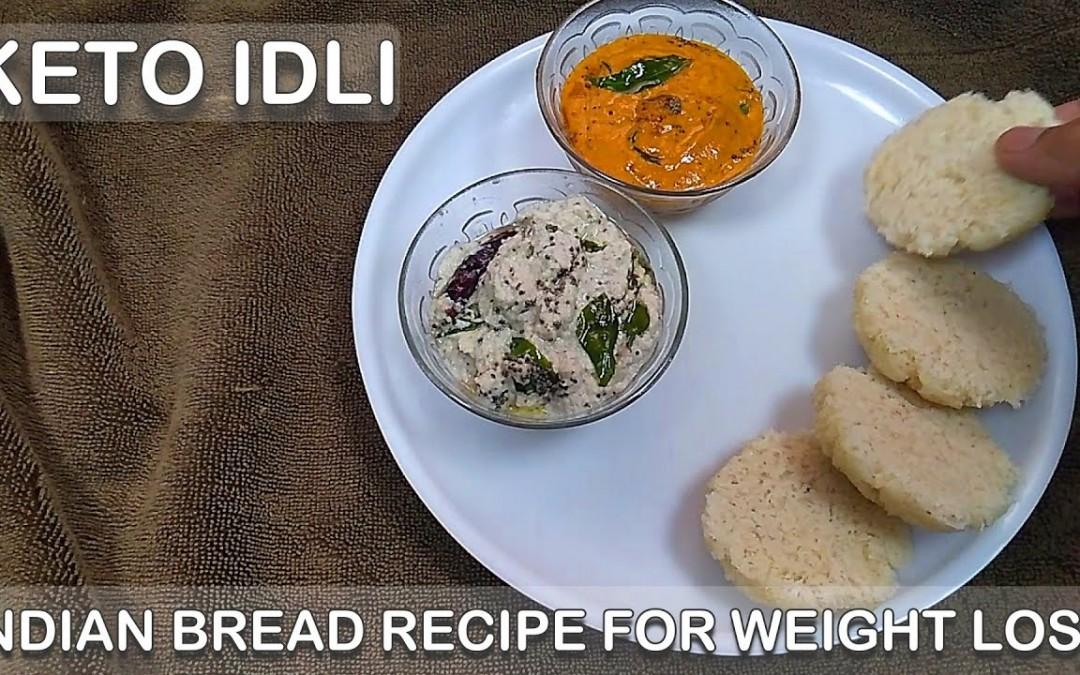 Keto Idli in 2 Mins|100% Vegetarian Idli Bread|Keto Recipes|Weight Loss Recipe|LCHF Keto Bread|