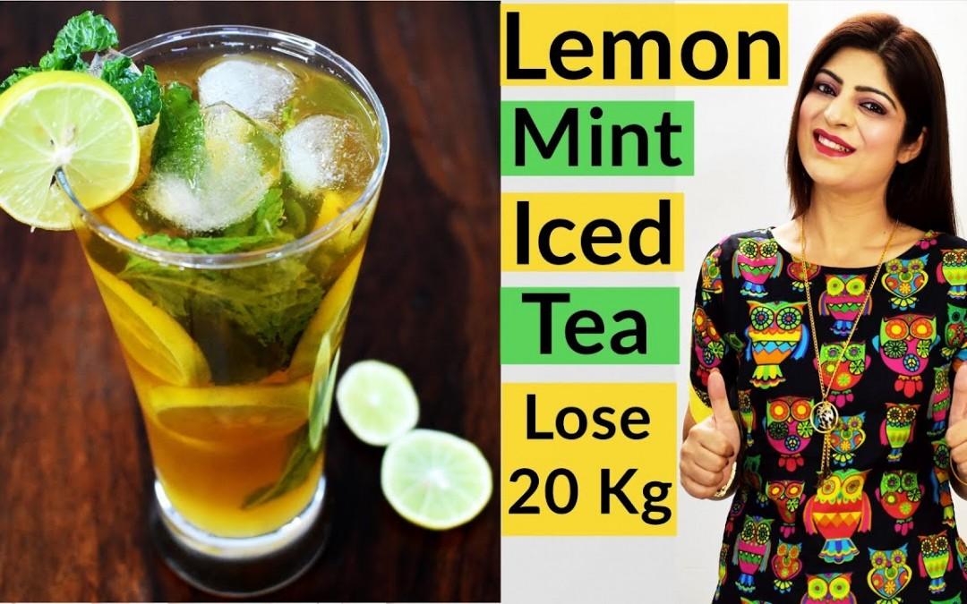 Lemon Mint Tea | Iced Tea | Summer Cooler | Summer Drink | How To Lose Weight Fast |Dr.Shikha Singh