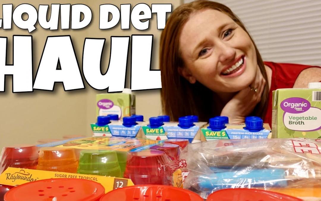Liquid Diet Grocery Haul & Meal Plan    WEIGHT LOSS SURGERY PRE-OP
