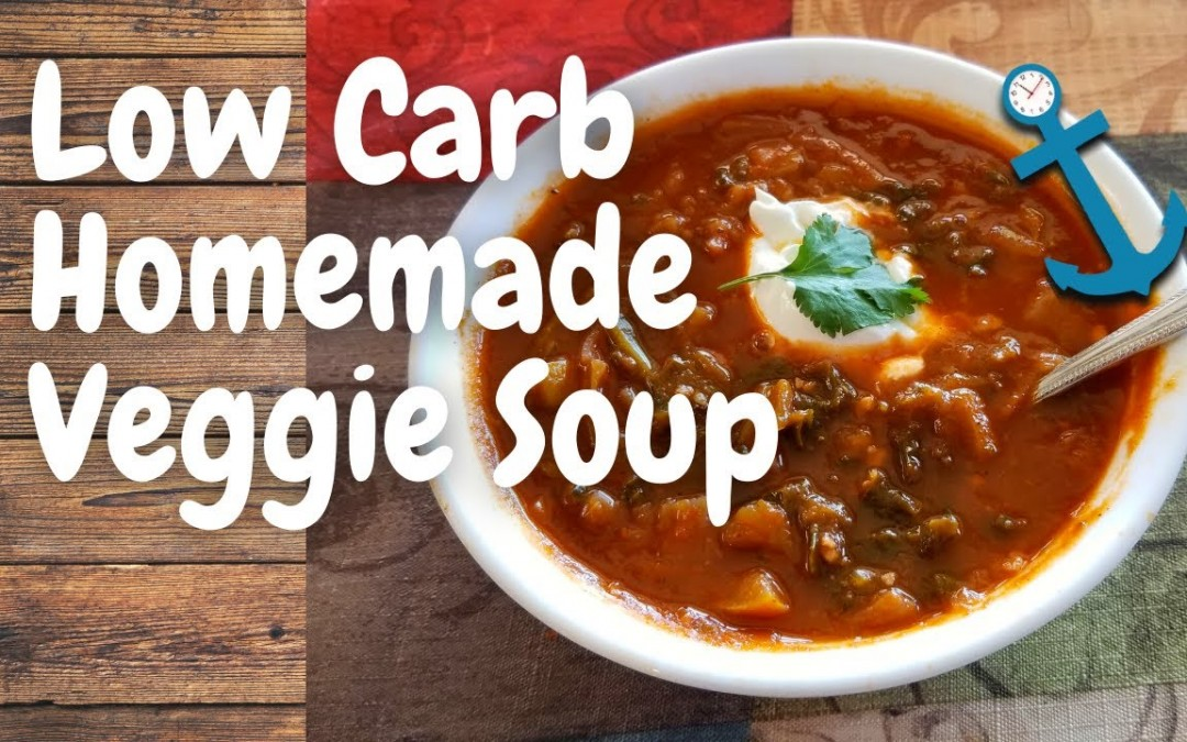 Low Carb Homemade Cabbage Veggie Soup– Tasty! Diabetic Friendly!