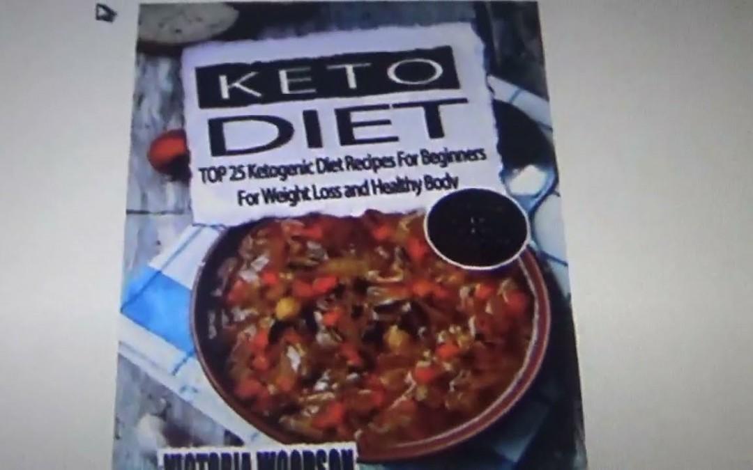 LOW CARB/KETO COOKBOOK REVIEW–Keto diet top 25 recipes