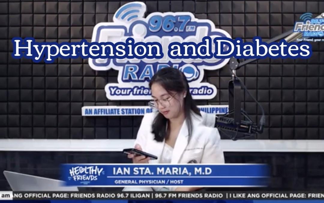 Paano maiwasan ang Hypertension at Diabetes?