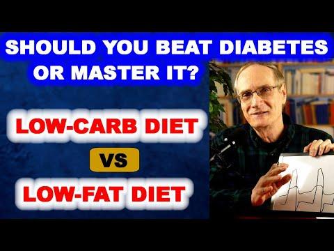 Should You Beat Diabetes – Or Master It? (Low-Carb vs Low-Fat)