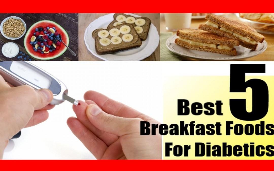 Tasty Diabetic breakfast recipes | Healthy Breakfast for diabetics on the go