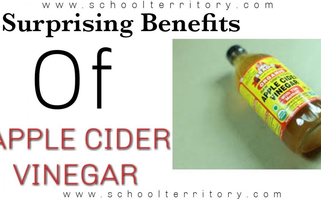 5 Surpising Benefits Of Apple Cider Vinegar