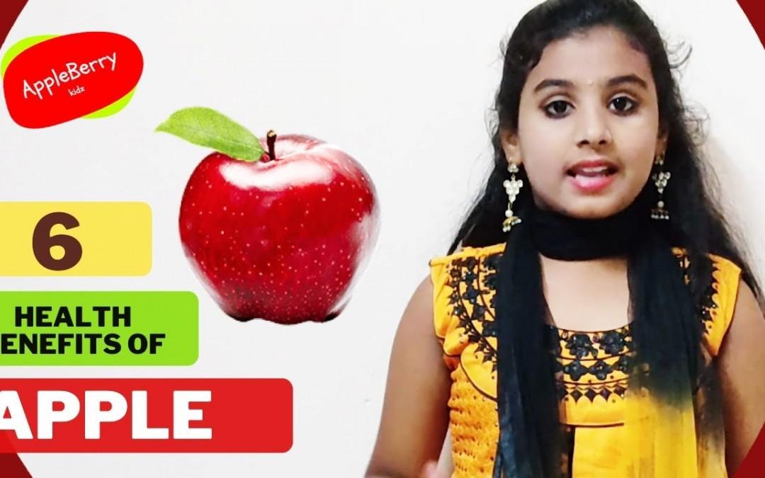 6 Health benefits of Apple   Amazing health benefits of Apple   AppleBerry Kidz