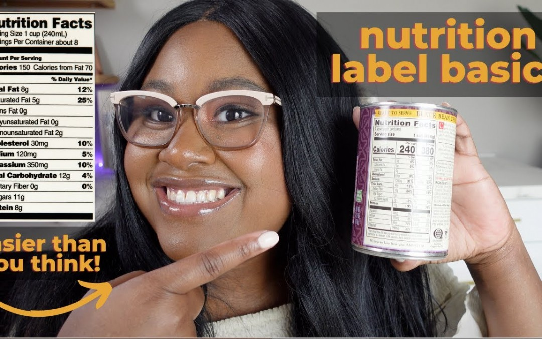 Food & Nutrition Labels Explained for Diabetes | The Hangry Woman