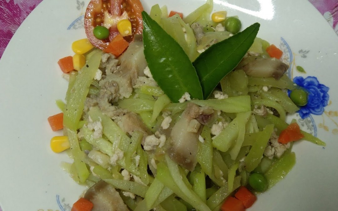 ginisang sayote badget meals tips.mura na makakatipid kapa.vlog#06