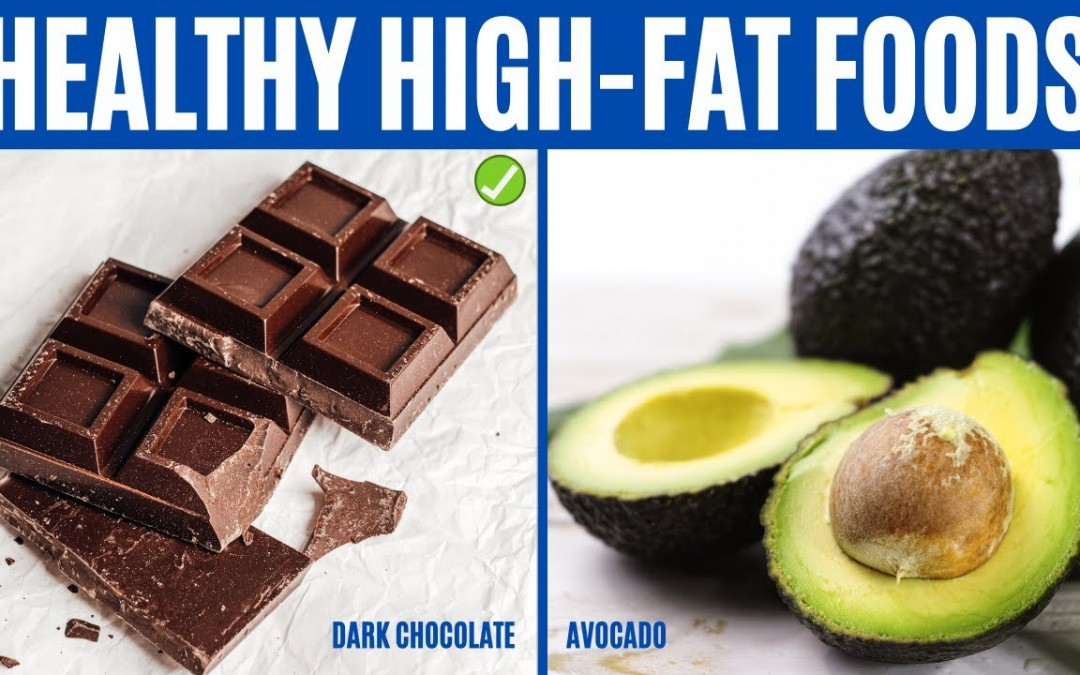 HIGH FAT FOODS – 12 Healthy High Fat Foods to Eat Every Day!