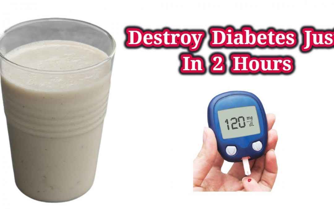 How To Destroy Diabetes Just In 24 Hours   Blood Sugar Cure @Healthy Tube