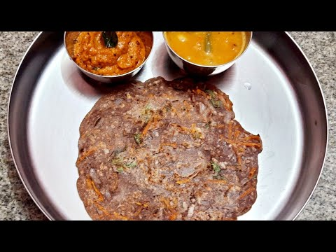 Instant Breakfast Recipe Healthy Weightloss Food Diet Foods Ragi Dosa Dosa Recip Millet Dosa #shorts