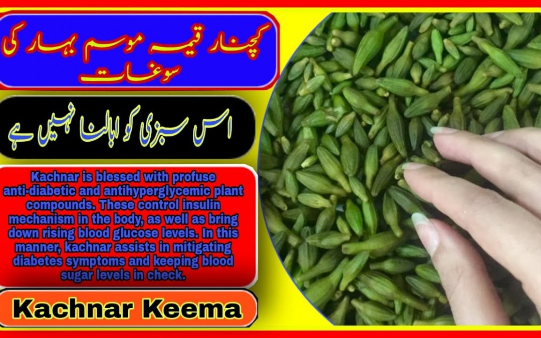 Kachnar Keema | Keema kachnar Recipe |Orchid Tree Vegetable  | Kachnar keema by Dil se fooducker