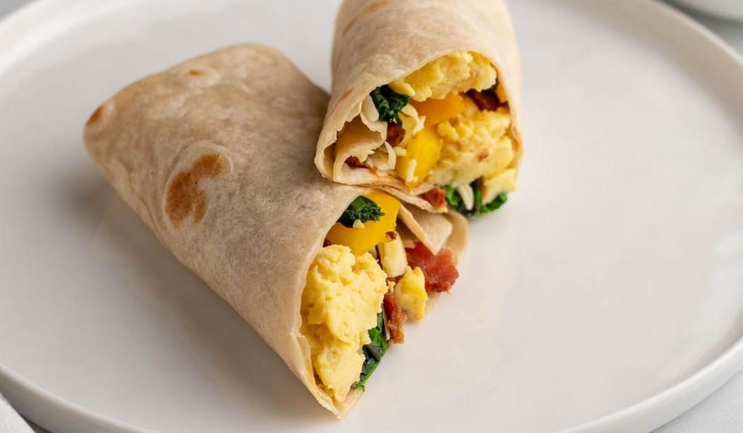 Low-Carb Breakfast Burrito – Diabetic Foodie