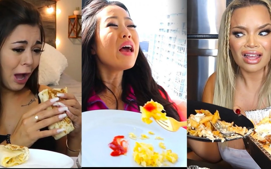 MUKBANGERS CRYING OVER Eating RECOMMENDED SERVING SIZES