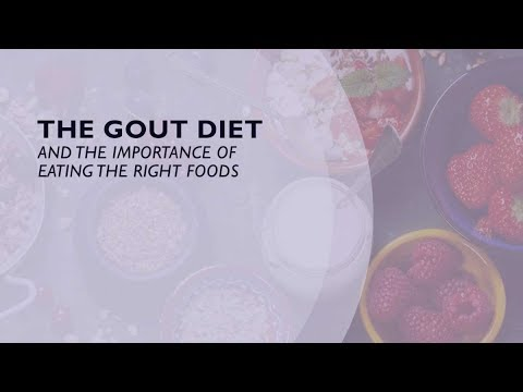 The Gout Diet and the Importance of Eating the Right Foods (3 of 6)