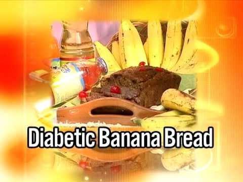 Diabetic Banana Bread – Grace Foods Creative Cooking