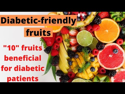 Diabetic-friendly fruits; Fruits that can't increase too much blood sugar levels: part-1