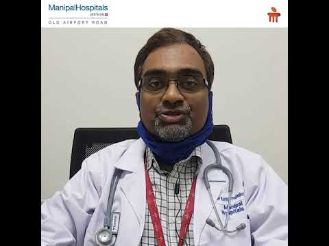 Dr. Karthik Prabhakar | Advice For Diabetic Patients During COVID19 Manipal Hospitals India
