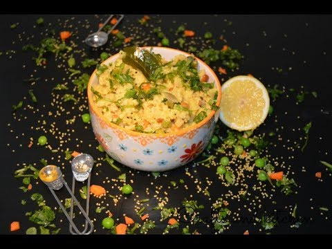 Foxtail Millet Upma | Diabetic Friendly Food | Nutritious And Healthy Breakfast Recipe