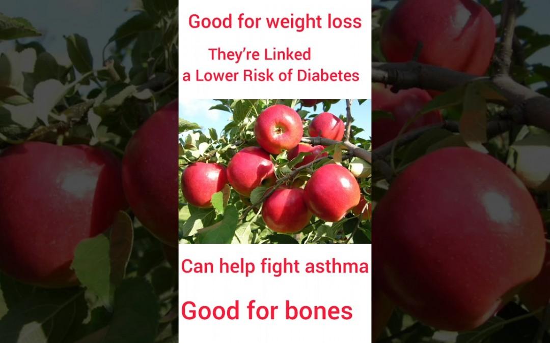 HEALTH BENEFITS //APPLE