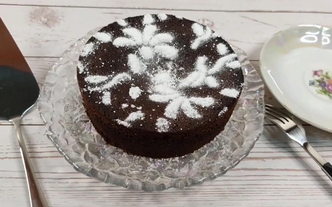 Healthy Chocolate Cake made with almond flour – Gluten free, sugar free, oil free – Moist & tasty!