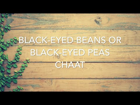 Healthy Lobia Chaat (Black-eyed beans) – diabetes/weight loss/low cholesterol – low calorie meal
