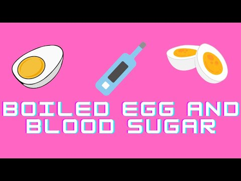 How To Stabilize Blood Sugar With a Boiled Egg ?