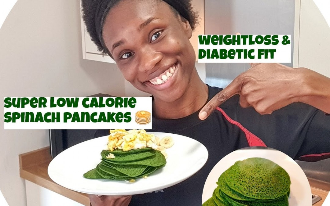 Is pancake healthy for weight loss?  Low calorie savoury spinach pancake recipe to shed off weight